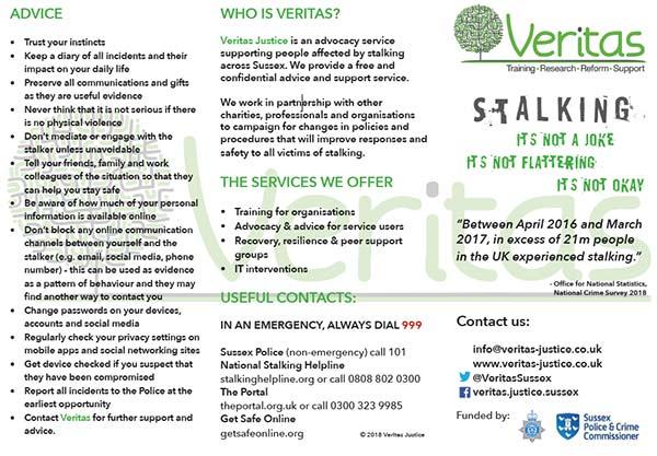 69221 stalking leaflet