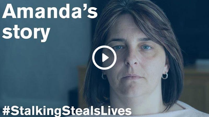 amanda stalking steals lives video