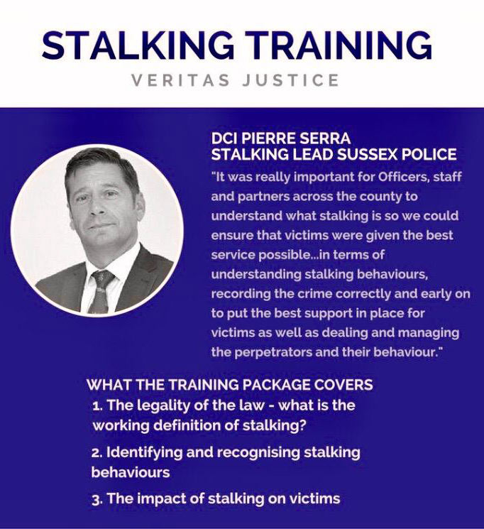 stalking awareness training packages